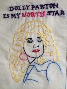 Dolly Parton, Embroidery