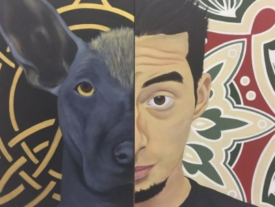 Mestizo (Diptych - Double Self-Portrait)